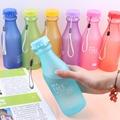 Hot 550ML Portable Leak proof Water Bottle Outdoor Bicycle Sports Drinking Fruit Infuser Plastic Water Bottles