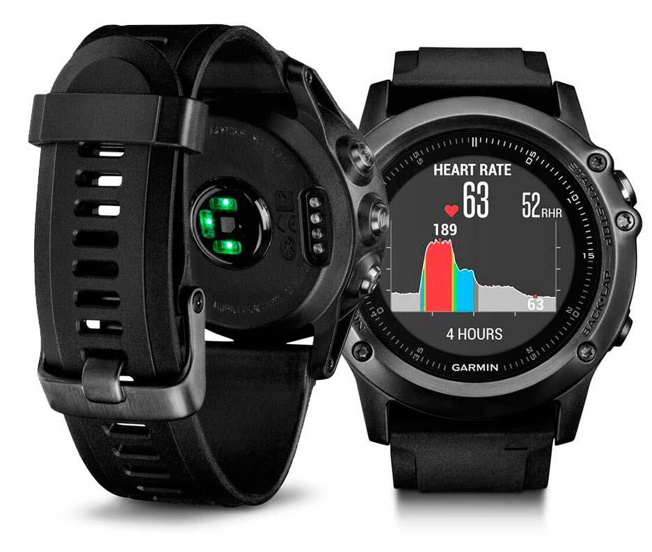 New Garmin Fenix 3 Sapphire HR MultiSport GPS Watch(Hong Kong)