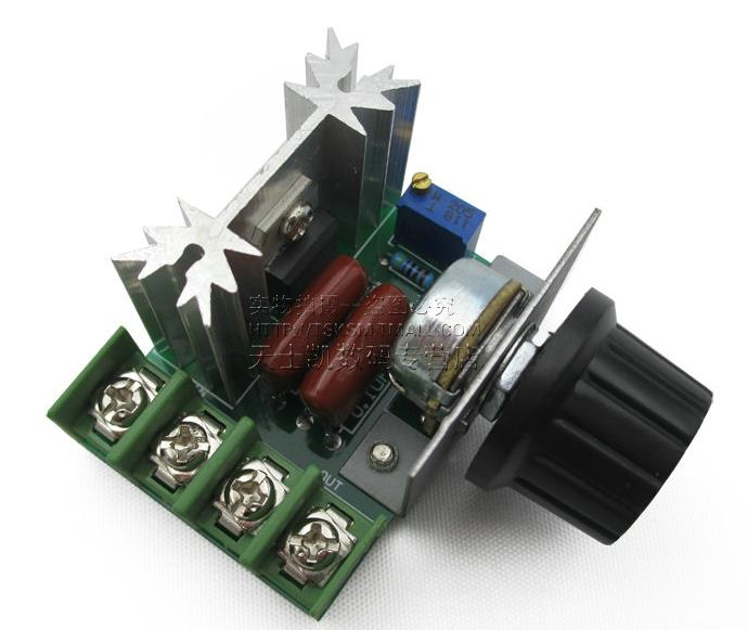 2000W 220V AC SCR Electric Voltage Regulator Motor Speed Control Controller SG045 SZ