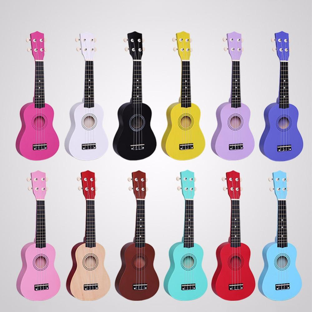 21 Inch Ukulele Uklele Uke Small Guitar for Baby Playpens Children Musical Instrument Hawaiian Basswood Guitars(China (Mainland))