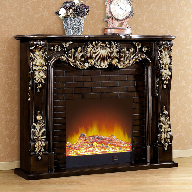 1 5 m high end european style fireplace wood carving for European home fireplace