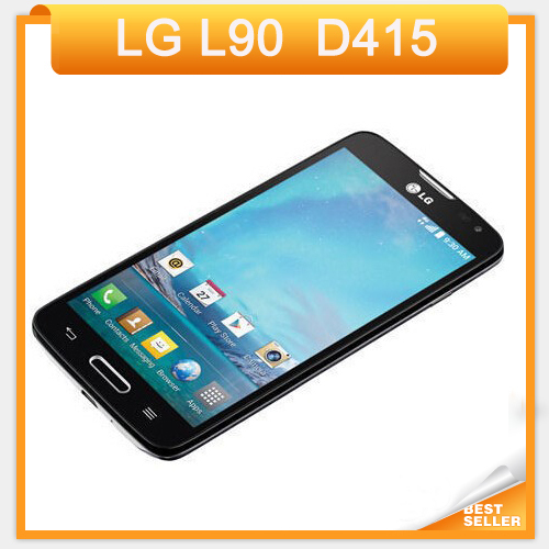 """Original unlocked LG L90 D415 4.7"""" Touch Screen Quad core cell Phone 1GB RAM 8GB ROM Android phone GPS Wifi Free Shipping(China (Mainland))"""