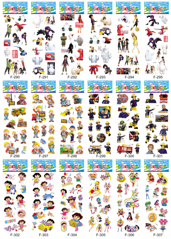 1000pcs Mixed 2015 Hot selling Kids Cute Cartoon 3d Puffy Stickers Kawaii Foam Sticker for Children Custom Wholesale(China (Mainland))