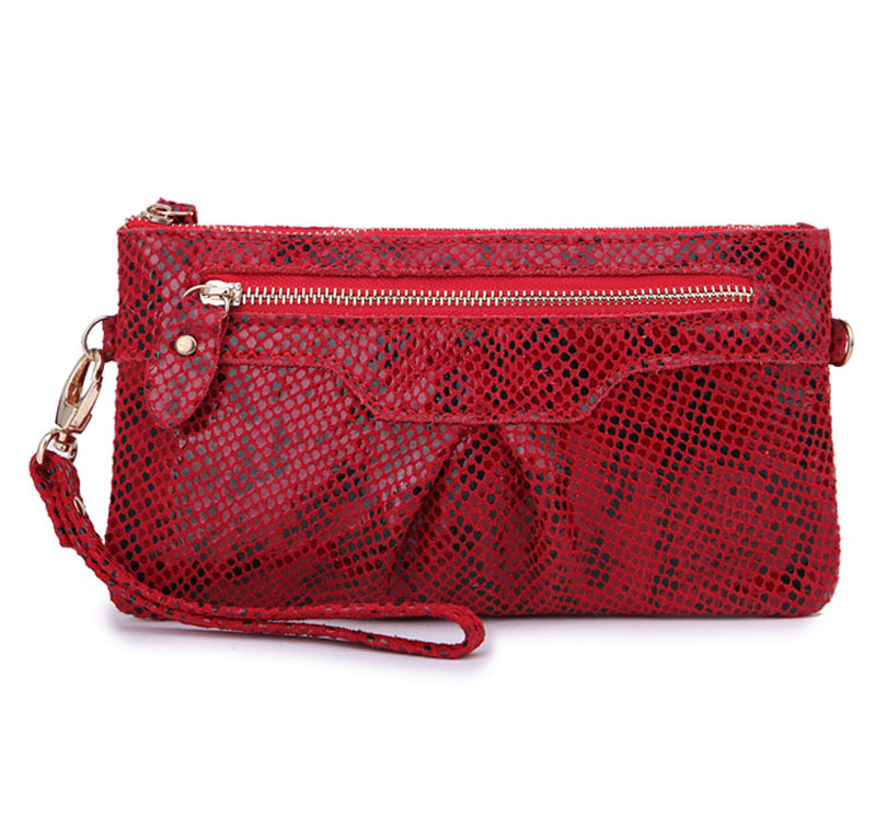 New Fashion Snake Pattern Female Leather Handbag Small Clutch Bags Lady Formal Dinner Shoulder Messenger Bags Western Style(China (Mainland))