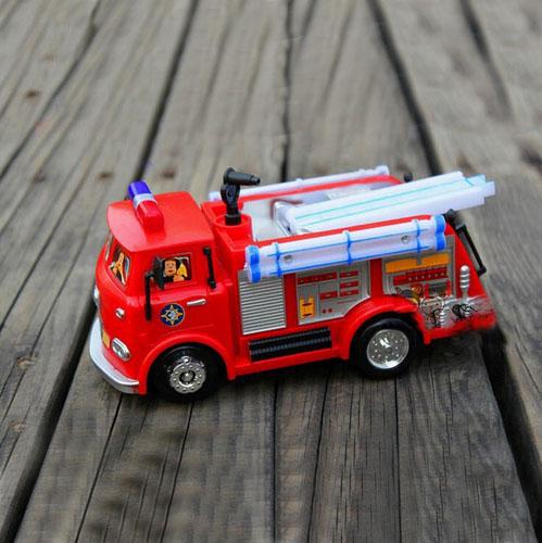 New Children Lovely Toys Fireman Sam Toy Cars Truck Jupiter Music And Led for Children's gifts(China (Mainland))