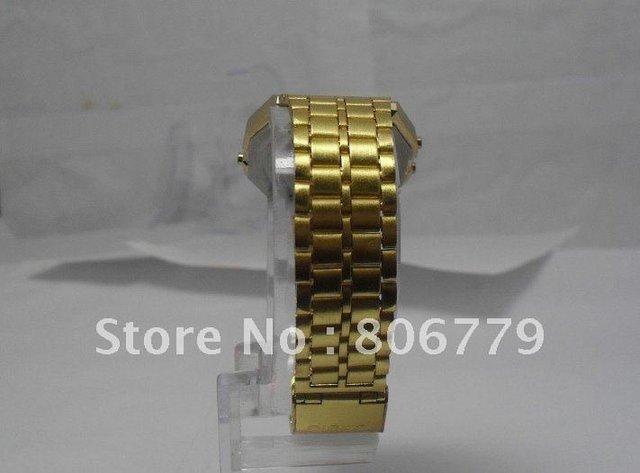 Top quality! F 91 W sports watch foreign trade watch F-91 W steel belt of thin electronic watch f91w& A159w watch10pcs F91w 245
