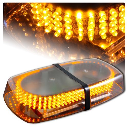Amber Emergency Hazard Warning LED Mini Bar Strobe Light w/ Magnetic Base(China (Mainland))