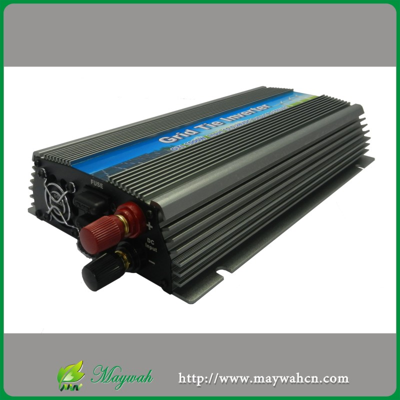 4pcs 22-50V WV1000W Pure sine wave Solar On Grid Tie Inverter, Output 190-260V.50hz/60hz, For Solar System Or Wind System(China (Mainland))