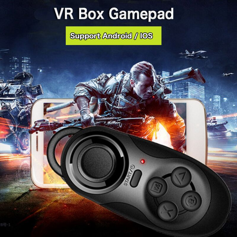 Wireless Bluetooth Game Controller Joystick Gaming Gamepad for Android iOS Smartphone for 3D VR Glasses(China (Mainland))
