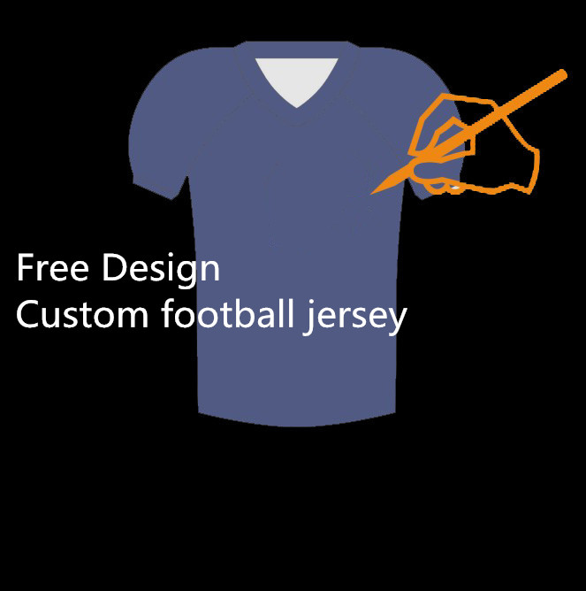 Free Design Men's Custom American Football Jersey Quick Dry College Hio State Football Jersey Size XXS-6XL Drop Ship(China (Mainland))