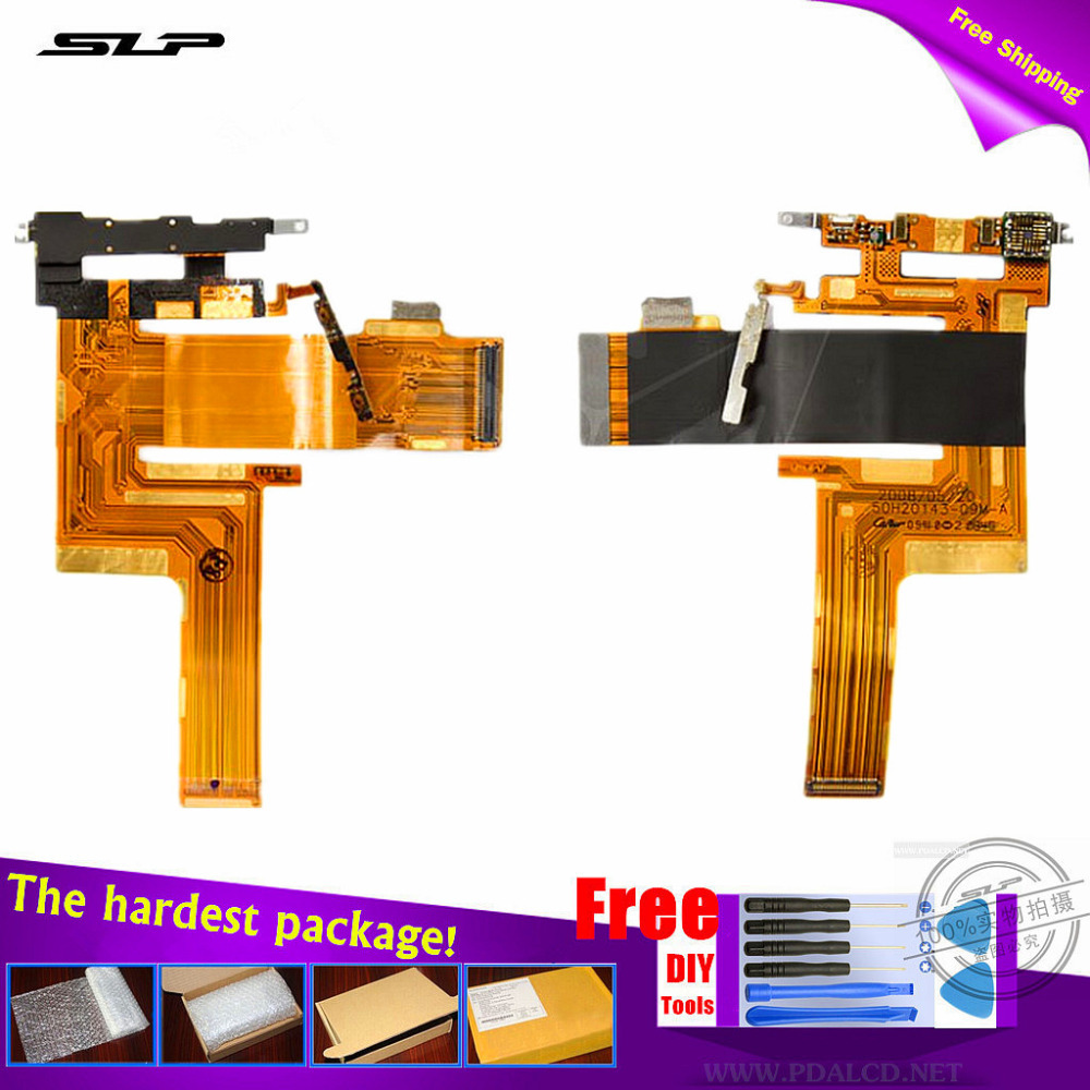 Flat Cable for HTC T7272 Touch Pro cell phone Flex Cable for mainboard, camera, side buttons 1 Year Warranty + DIY Tools(China (Mainland))