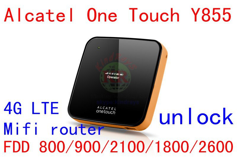Unlock Y855 4g LTE mifi wifi router 150Mbps Alcatel One Touch Y855 4G wiFi dongle LTE