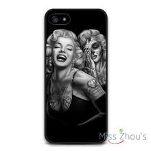 Marilyn Monroe Behind Sadness Protector back skins mobile cellphone cases for iphone 4/4s 5/5s 5c SE 6/6s plus ipod touch 4/5/6