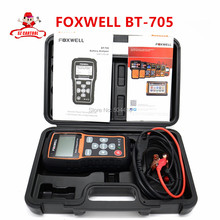 Free shipping Original Foxwell BT 705 BT705 BT-705 12 Volt Battery Analyzer Tester Directly Detect Bad Car Cell Battery(China (Mainland))