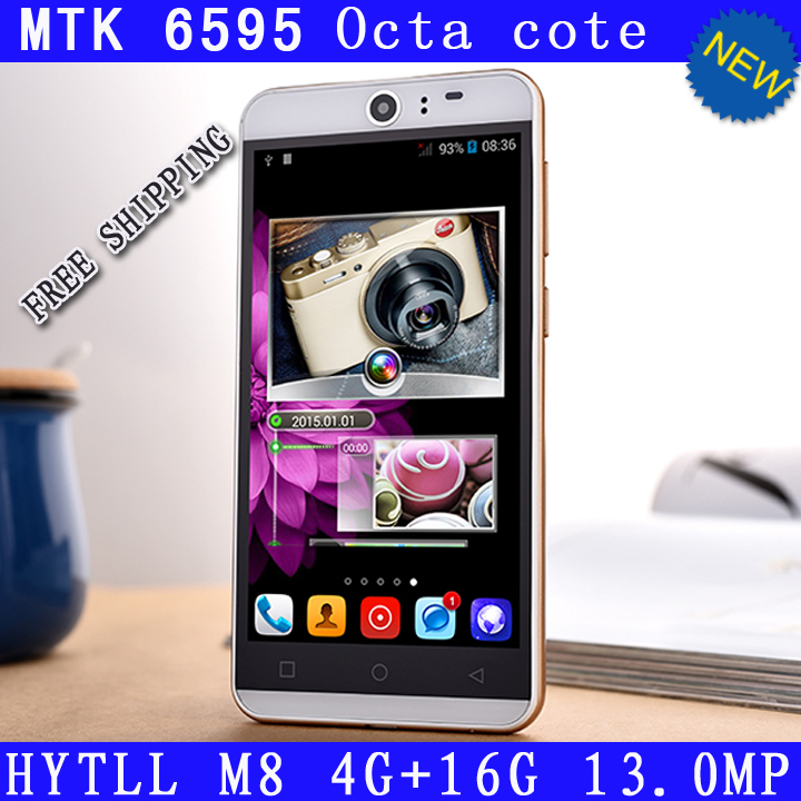 "Original Smartphone 3G one M8 MTK6595 Octa Core 5.0"" 1080P 4GB RAM 16GB ROM Dual Sim 13.0MP Camera android cell Mobile Phone(China (Mainland))"