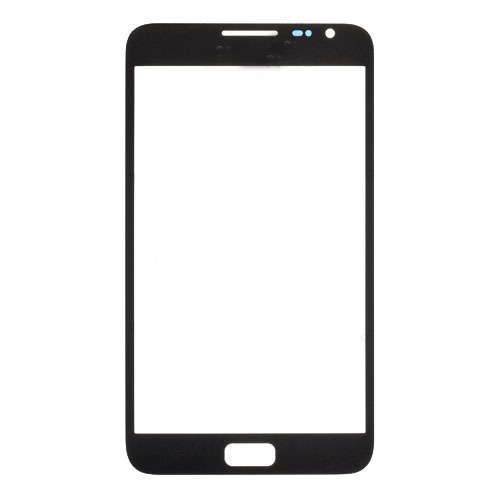 HQ Copy for Samsung Galaxy Note GT-I9220 N7000 Outer touch Screen Glass Lens with LOGO +Adhesive HK Free -Black White