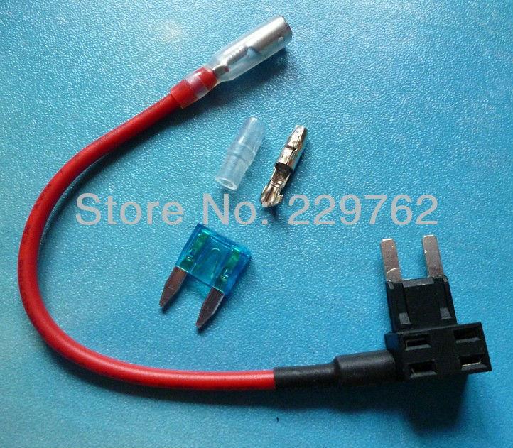 Free Shipping 200PCS NEW Add A Circuit Fuse Tap Piggy Back MINI Blade Fuse Holder ATM APM 12v 24v 12 volt<br><br>Aliexpress