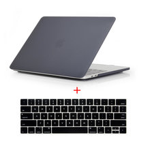 Buy Crystal/Matte Laptop Case 13.3 inch 2016 New Macbook Pro 13 Touch Bar A1706 A1708 Laptop Sleeve + English Keyboard for $13.80 in AliExpress store