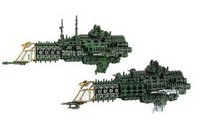 Resin Models  Battlefleet Gothic  Imperial Cruiser  Free Shipping(China (Mainland))