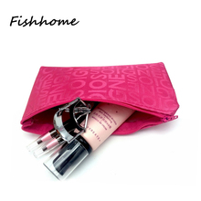 2017 New Small Letters Cosmetic Bag Female Korean Makeup Bag Travel Necessary Storage Package Custom Promotional Gifts tq4210(China (Mainland))