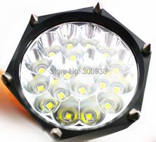 Free Ship 18xCREE XM-L T6 20000 Lm 5Mode LED Flashlight Torch light Waterproof Tactical Flashlight lantern lamps by 18650/26650(Hong Kong)