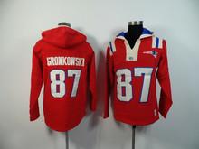 New England Patriots,Tom Brady,Rob Gronkowski Sweater hoodies(China (Mainland))