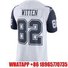Youth #4 Dak Prescott #21 Ezekiel Elliott Dez Bryant Jason Witten White Color Rush Limited embroidery Logos(China (Mainland))