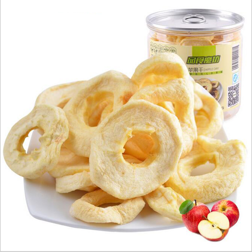 Wholesale and Retail Export Quality Pure Natural Apple Dried Fruit Delicious Red Fuji Apple Ring Snacks / Apple Stem(China (Mainland))