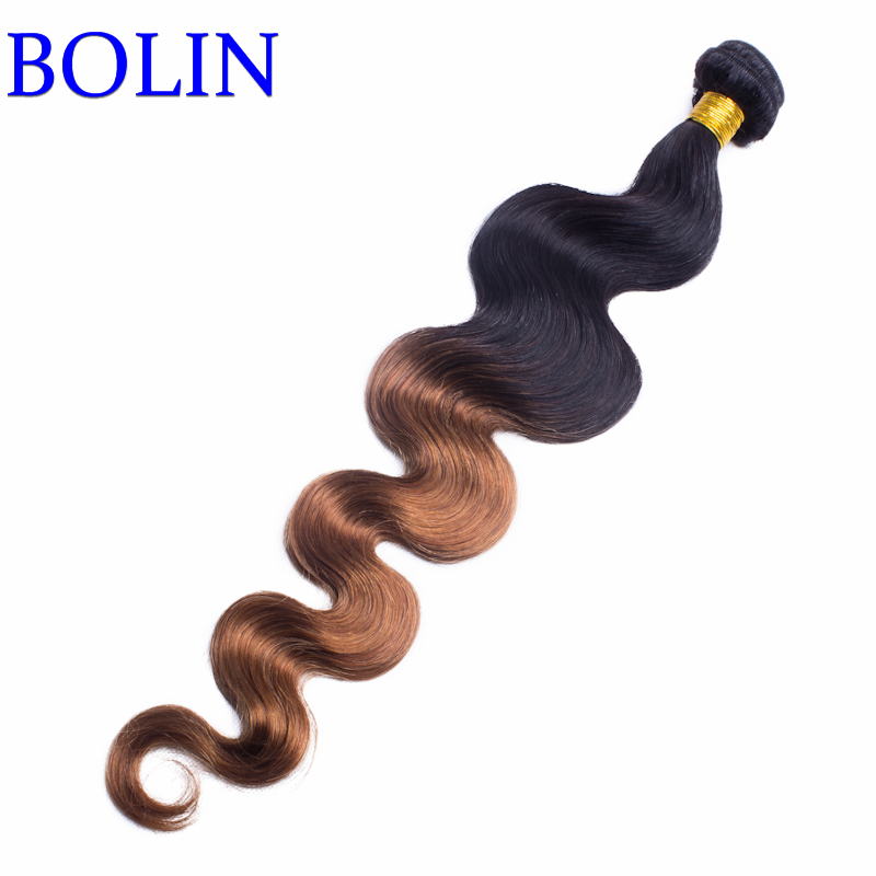 Ombre Brazilian Hair 1b/33 Two Tone Body Wave 3pcs Ombre Human Hair Weave 7A Grade Hair Products Brazilian Virgin Hair<br><br>Aliexpress