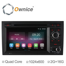 1024*600 Ownice C200 2G RAM Car DVD Player for Audi A4 2002 2003 2004 2005 2006 2007 S4 RS4 8E 8F B9 B7 RNS-E Autoradio 16GB ROM