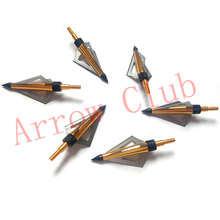12pcs hunting 7 8mm OD and 30 length mixed carbon compound bow arrow matches 6pcs 125GR