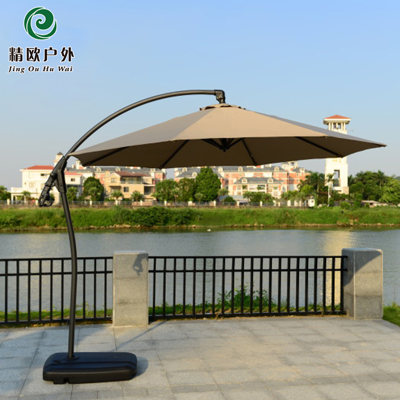 Outdoor advertising 3 meters large umbrella beach UV protection security guard post<br><br>Aliexpress