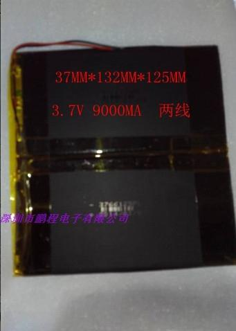Tablet PC handheld electronic board power 7.4V 3.7V Built-in lithium battery 37132125 9000MA(China (Mainland))
