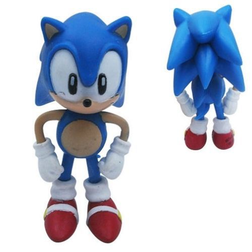 6x The HEDGEHOG Super Sonic Characters PVC Figure Set Loose Pack(China (Mainland))