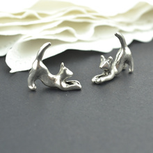 Buy 20Pcs metal cat Charm Antique Tibetan Silver Pendant Jewelry Products Charms Diy Pendants Necklace Bracelets 2242 for $1.50 in AliExpress store