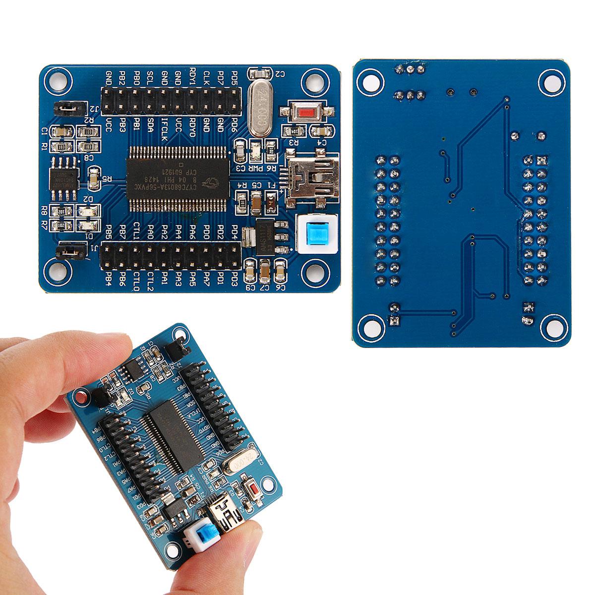 EZ-USB FX2LP CY7C68013A USB Core Board Development Logic Analyzer EEPROM TE382(China (Mainland))