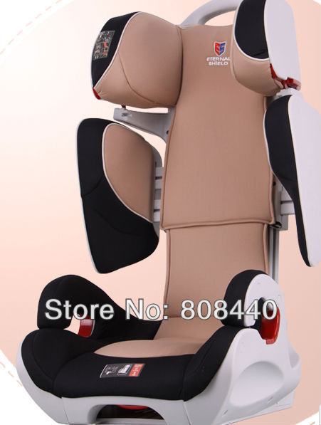 ES06 transformers car safety seat children aged 4 to 12 use