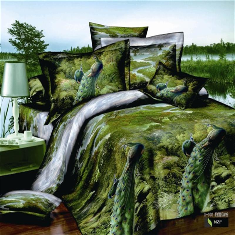 Jungle Bed Sheets