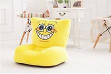 lovely plush Yi tooth Spongebob sofa toy the creative cartoon Spongebob sofa doll birthday gift about 54x30x10cm