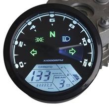 High quality Universal 12000RMP LCD Digital Speedometer Odometer Tachometer 1-4 Cylinders motorcycle digital gauge(China (Mainland))