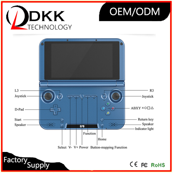 Best 5 inch GPD XD android game console gamepad handled console High performance 2G 32G for psp nes N64 sega game console pocket(China (Mainland))