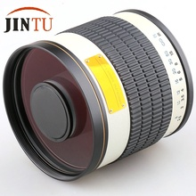 Buy JINTU White 500mm f/6.3 Ultra-Telephoto Mirror Lens Canon EOS 1200D 1100D 1000D 760D 750D 700D 650D 600D 550D 500D 450D 400D for $143.65 in AliExpress store