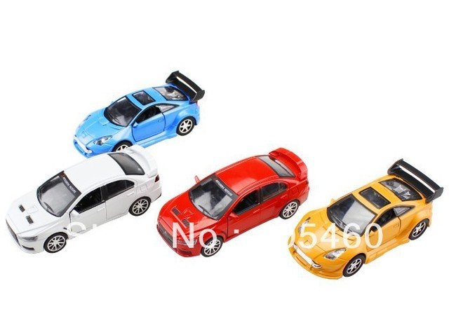 Free shipping alloy Mitsubishi Toyota car model control  toys for children