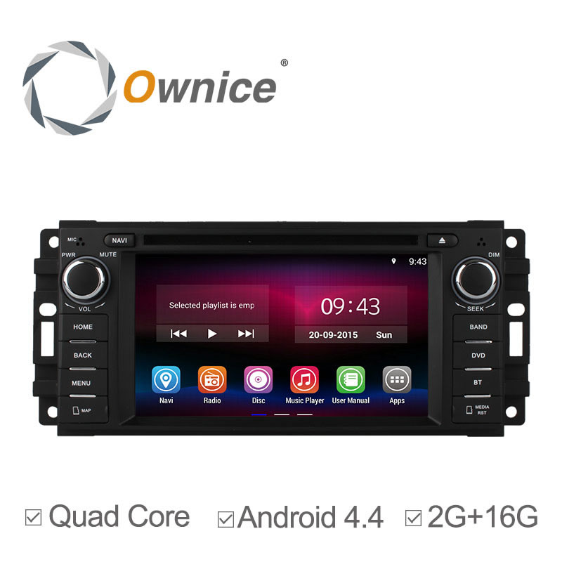 Quad Core Android 4.4.4 Car DVD For Chrysler Sebring Aspen 300C Cirrus Jeep Compass Grand Cherokee Wrangler Unlimited 16GB Nand<br><br>Aliexpress