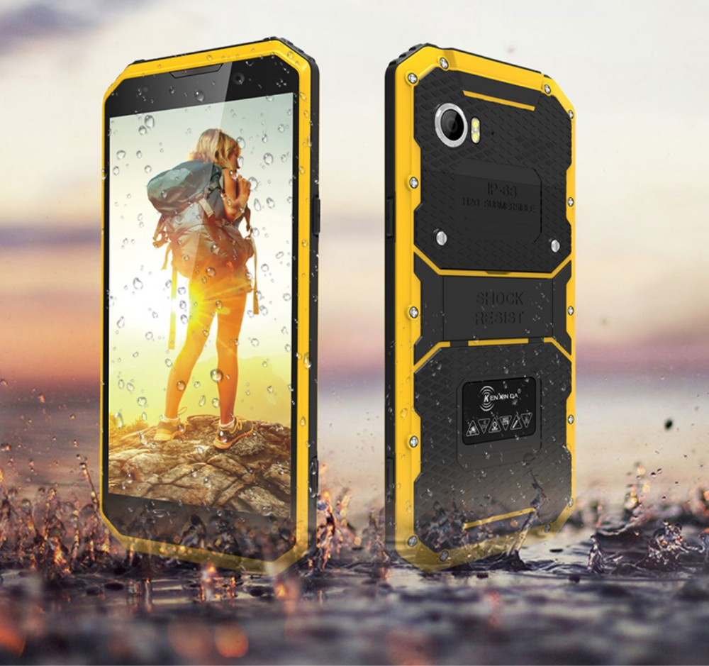 5.0 Inch Original KenXinDa Proofings W7 IP68 Waterproof Shockproof Dustproof Android 5.1 1GB 16GB Rugged Smartphone