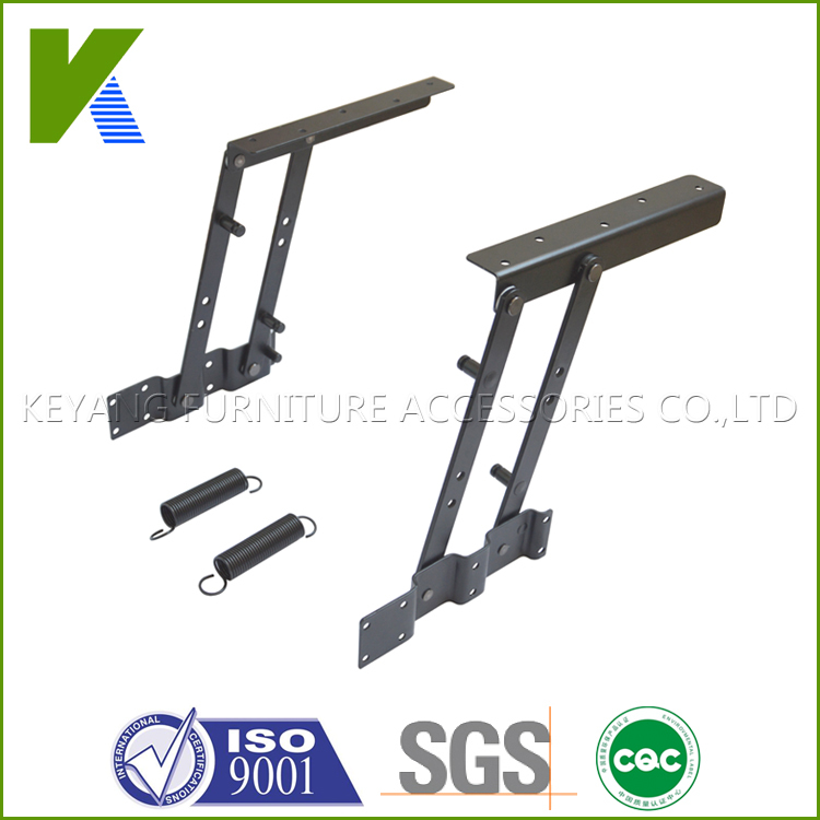 Lift Coffee Table Hardware Folding Table Mechanism With Spring KYD004(China (Mainland))