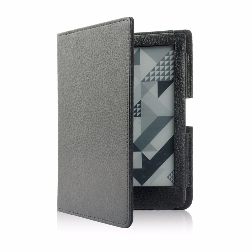 Leather Cover Case for Pocketbook 630 Fashion Ebook Reader + Screen Protector + Stylus(China (Mainland))
