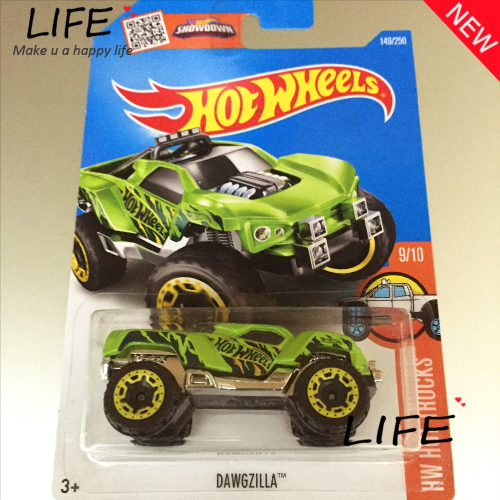 2016 Free Shipping Hot Wheels Dawgzilla Car Models Metal Diecast Cars Collection Kids Toys Vehicle For Children Juguetes(China (Mainland))