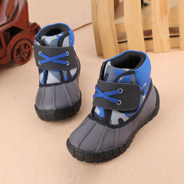 2015 New Style Winter Warm Children Shoes Boys Shoes High ...