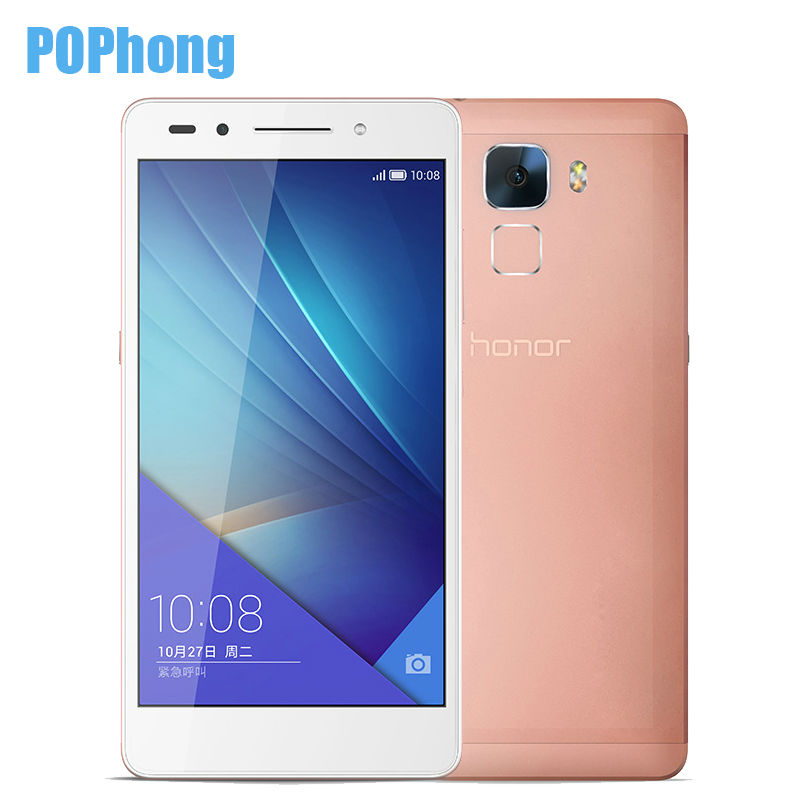 HUAWEI HONOR 7 16/32/64GB ROM 3G RAM hisilicon kirin 935 octa core mobile phone 5.2 inch 20MP 4G LTE fingerprint(China (Mainland))